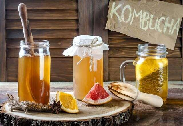 Eat Kombucha Tea which is Best Fermented Foods