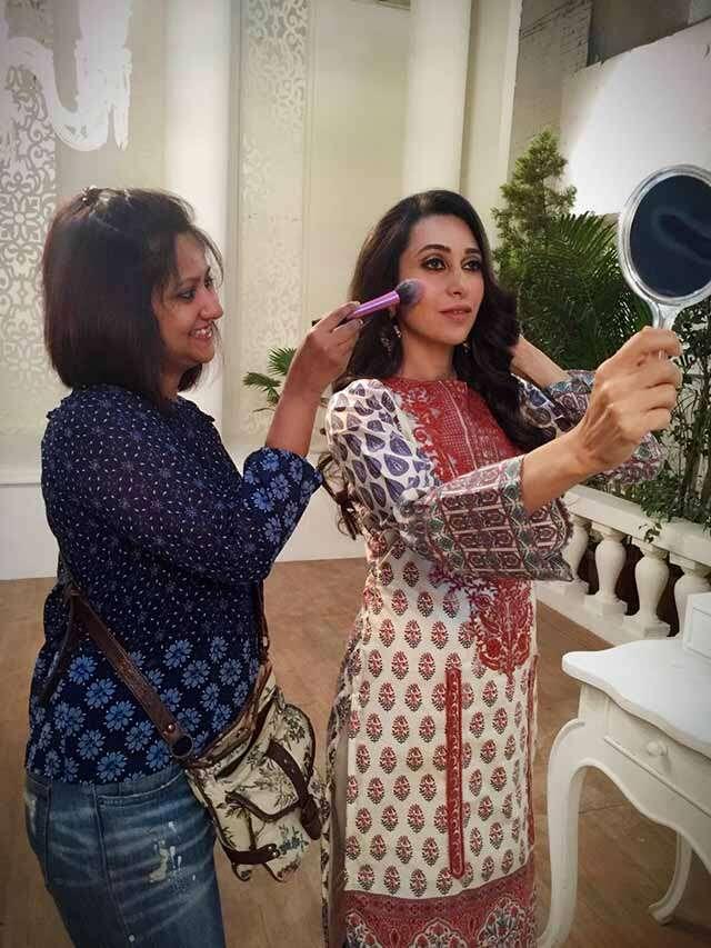 Beauty Makeup for Karisma Kapoor