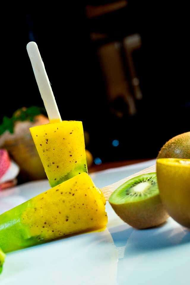 Khatti meethi kiwifruit chuski