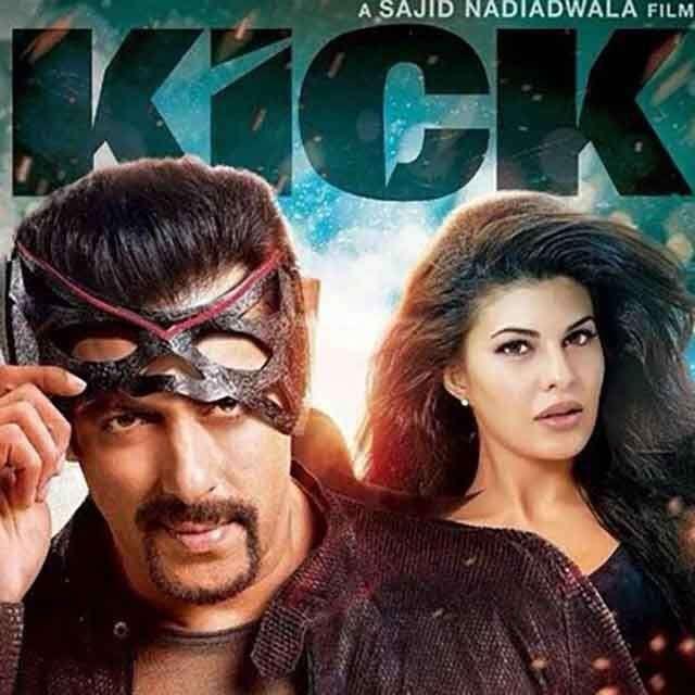 Jacqueline Fernandez and Salman Khan in Kick