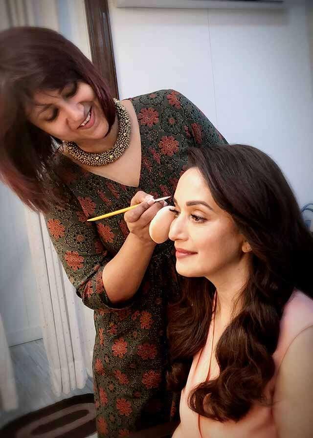 Beauty Makeup for Madhuri Dixit