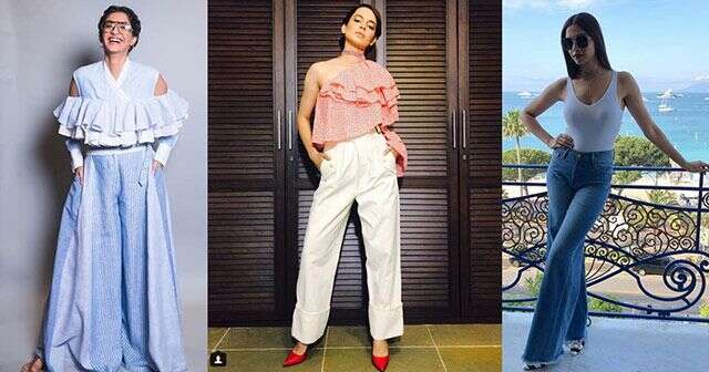 How to style trousers like celebs
