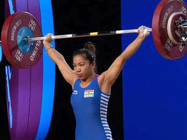Mirabai Chanu wins medal in CWG 2018