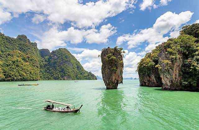 Phuket, Thailand location for beachside honeymoon