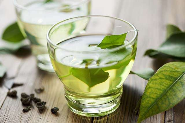 Drink Green Tea to reduce stress and anxiety