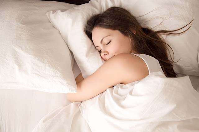 Sleep well to reduce stress and anxiety