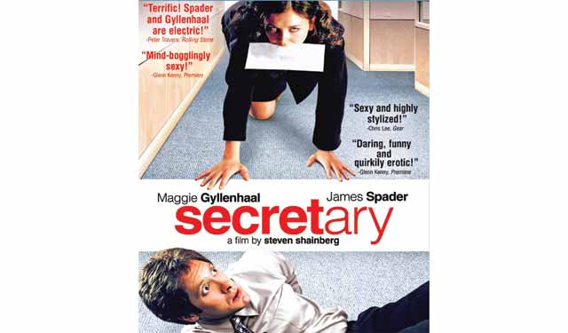 Secretary movie that will pique your imagination for better sex