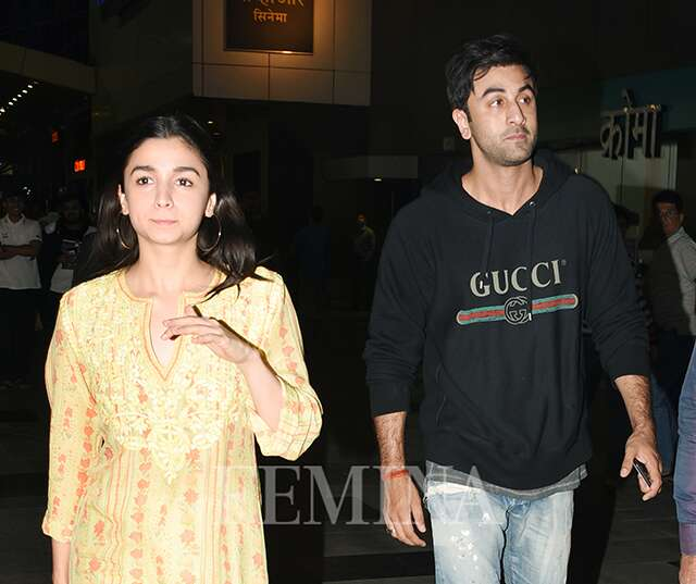 Ranbir Kapoor and Alia Bhatt's couple