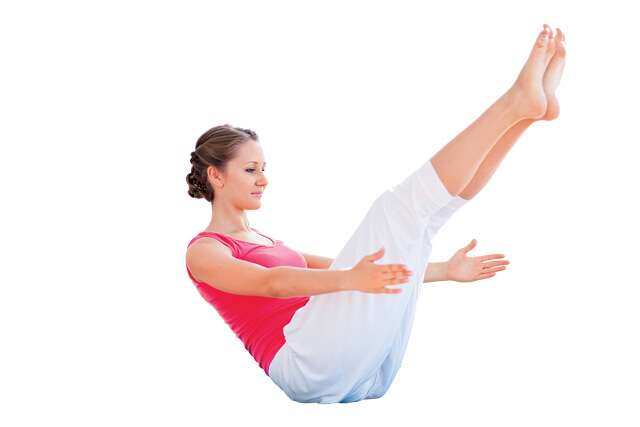 Belly-busting yoga moves