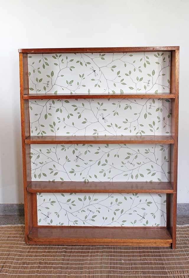 Fabric bookshelf