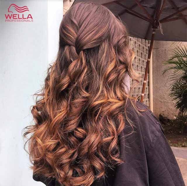 wella hair colour