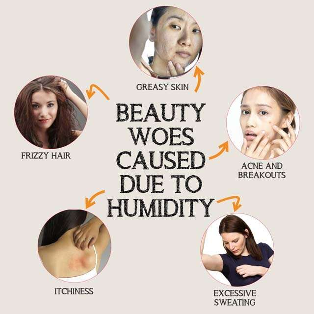 Beauty Woes Caused Due to Humidity