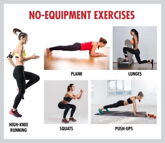 No-Equipment Exercises
