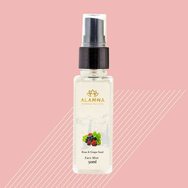 Alanna Rose and Grape Seed Face Mist