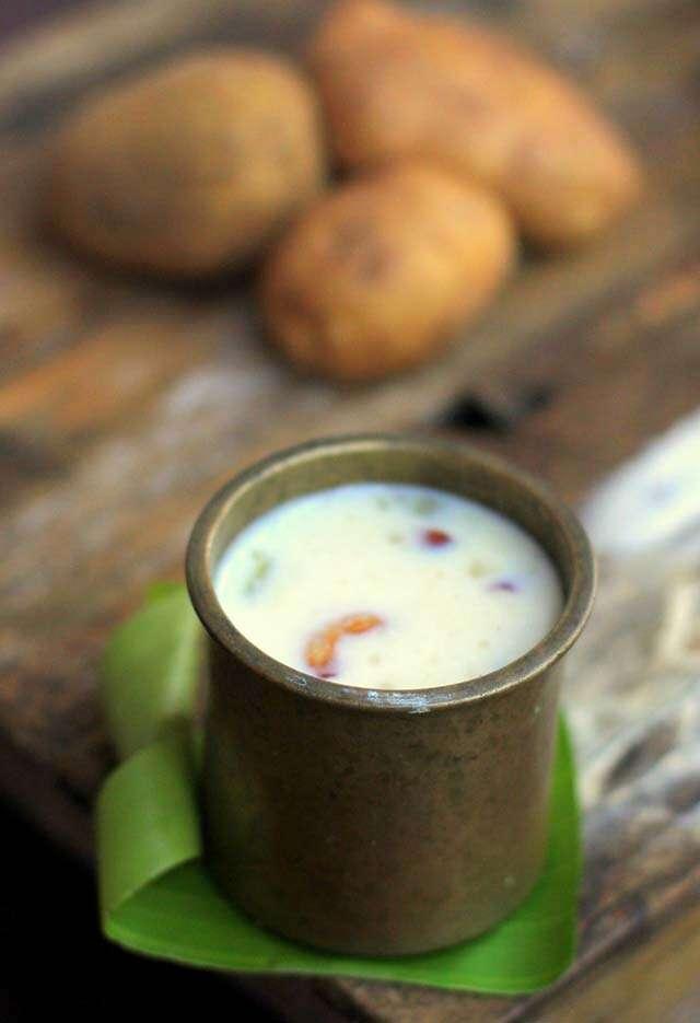 potato payasam for ghee benefits