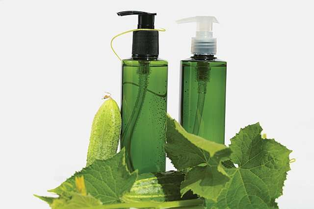 Cucumber skin-cooling tonic