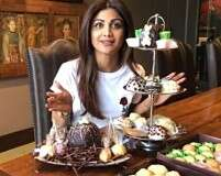 Shilpa Shetty Kundra knows how to enjoy a cheat meal