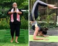 Celebs who swear by yoga