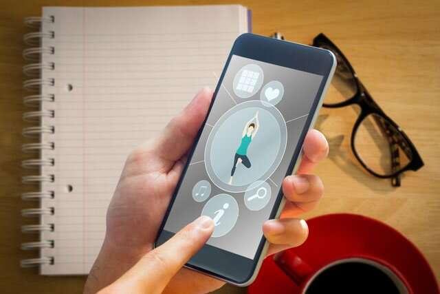 yoga apps to online tutorials