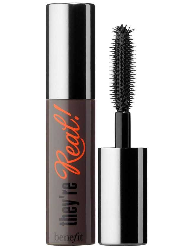 Benefit they're real! lengthening mascara travel size mini