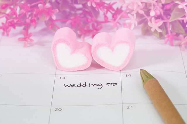 Wedding Planning 12 months before