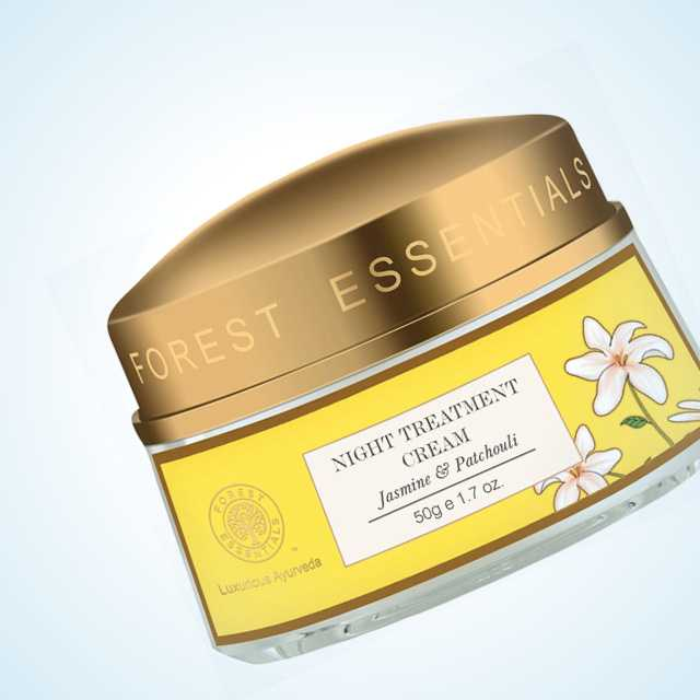 Forest Essentials Night Treatment Cream Jasmine & Patchouli