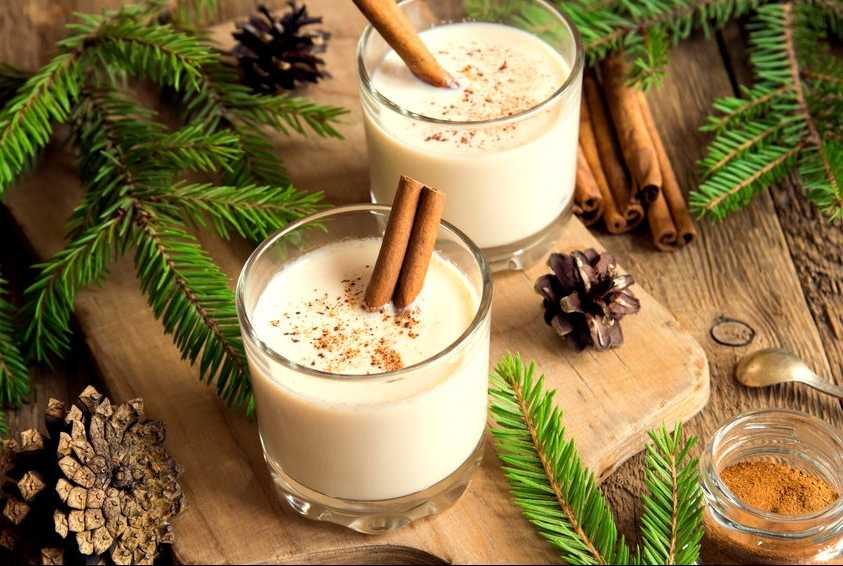 Eggnog-cocktail