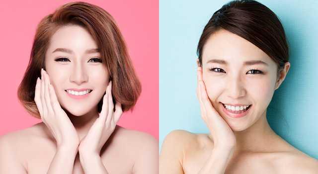 K vs J beauty