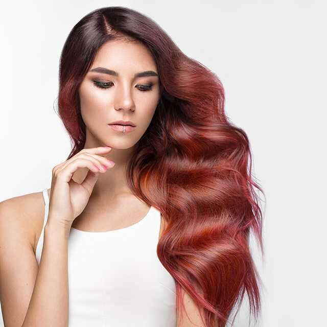 Red flags for ombre hair