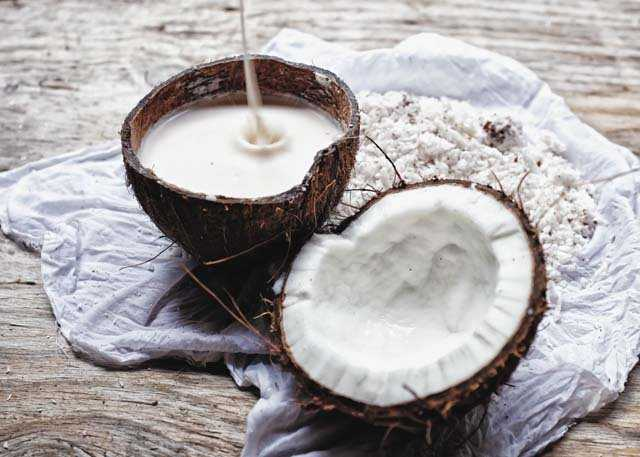 coconut milk for hair dry recipe