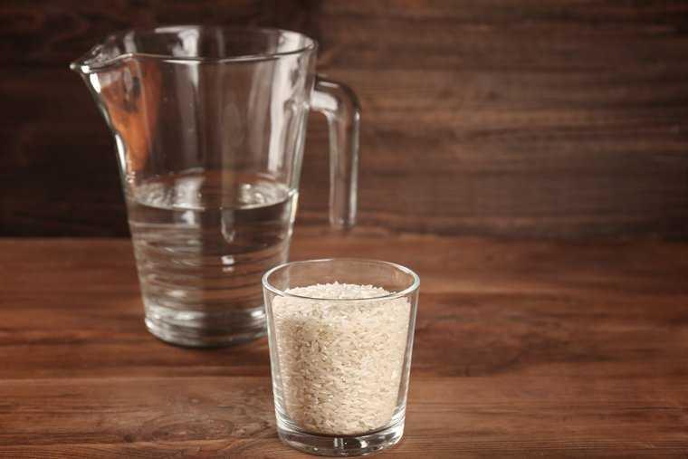 sử dụng nước gạo