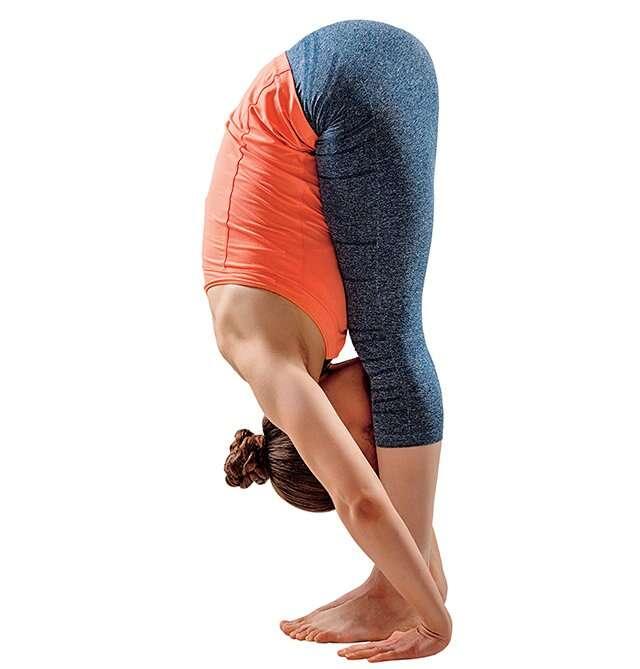 Uttanasana or Forward Bending Pose