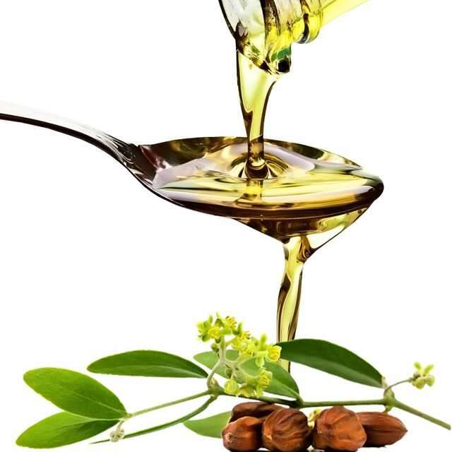 J for Jojoba oil
