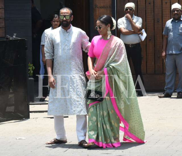 Masaba Gupta with husband Madhu Mantena Varma
