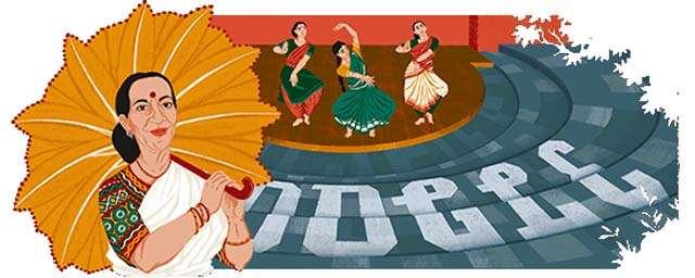 Mrinalini Sarabhai google doodle