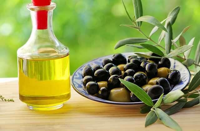 O for Olive oil