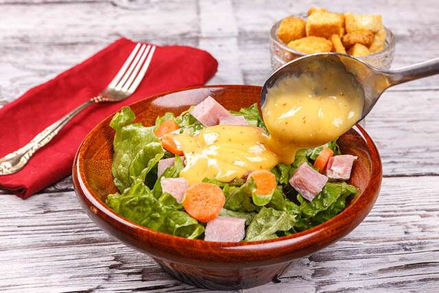 Salad Dressing Low Glucose Dextrose Foods