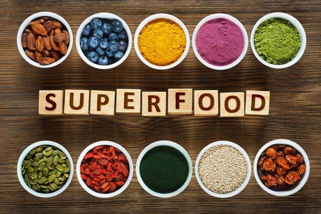 Superfoods have superpowers