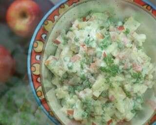 Creamy & delicious: classic Russian salad