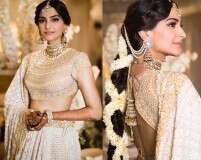 Photos from Sonam Kapoor's shades of white mehendi function