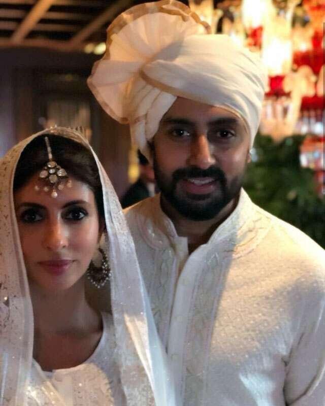 Abhishek Bachchan and Shweta Bachchan-Nanda
