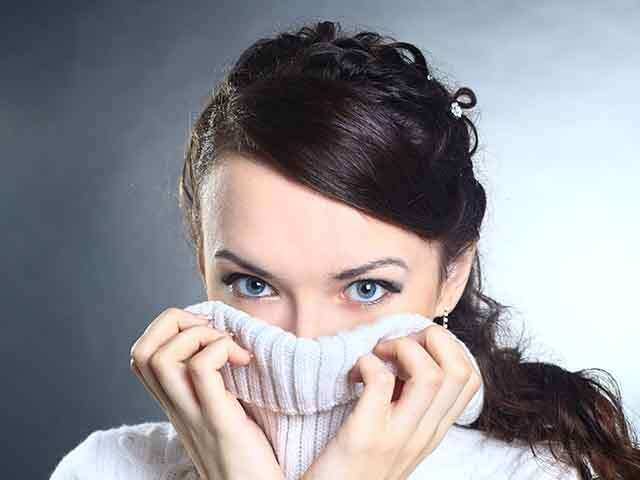 Skincare woes in winter