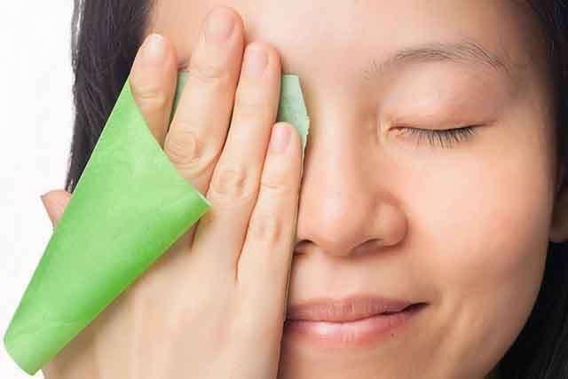 night-time skincare routine