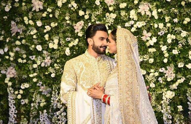 Deepika Padukone and Ranveer Singh's Mumbai reception