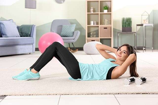 Exercises to Reduce Belly Fat with Twist Crunches
