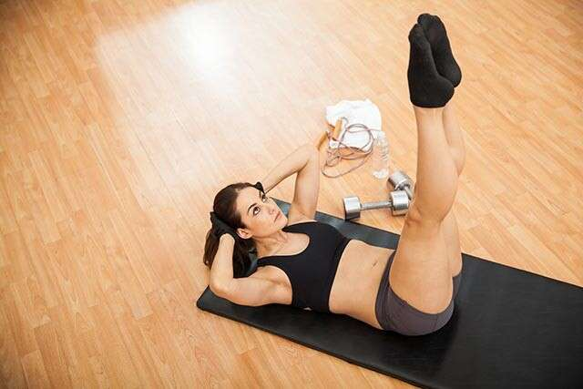 Exercises to Reduce Belly Fat with Vertical Leg Crunch