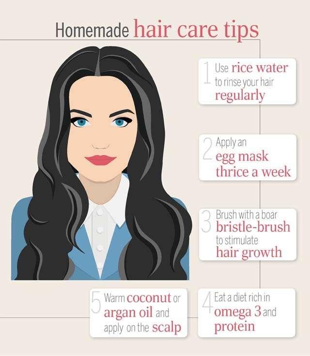 Homemade Hair Care Tips Femina In