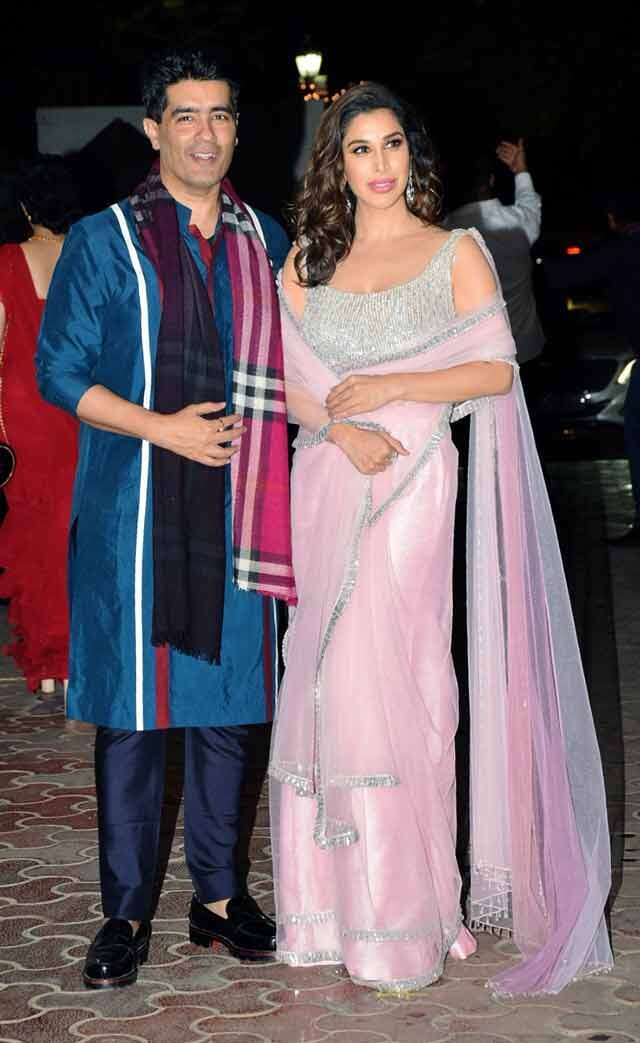 Manish Malhotra and Sophie Choudry