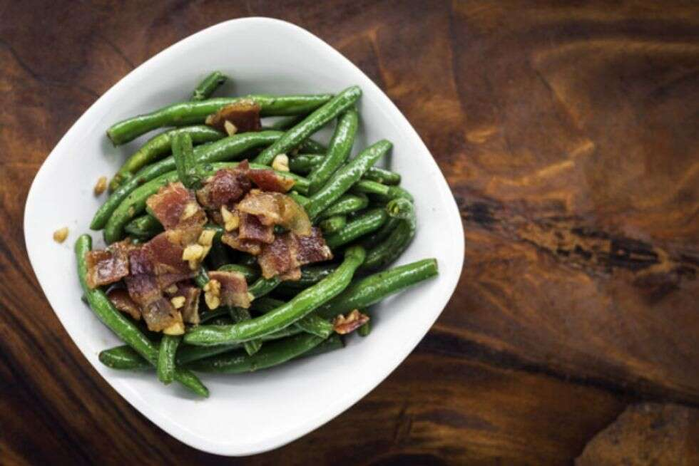 Beans_with_bacon_dressing