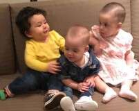 Taimur, Roohi and Yash are the cutest BFFs
